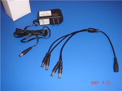 12VDC 500mA 100-240VAC  50-60Hz cctv camera Power supply for  switched